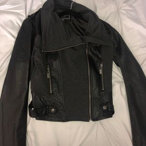 BNCI Black Leather Jacket